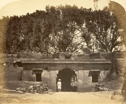 The gateway in which Tipu Sultan was killed in the Fort at Shrirangapattana [Seringapatam].